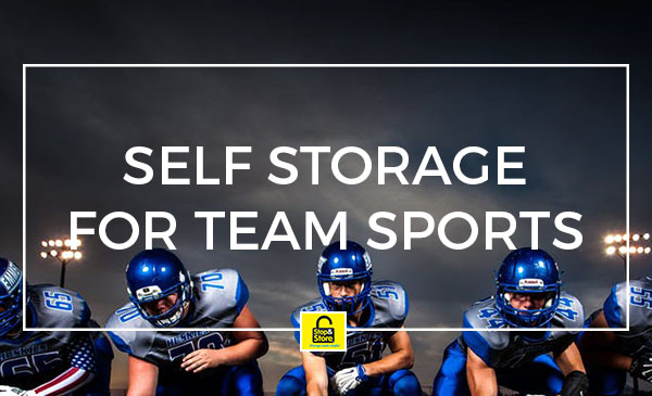 sports storage, team, self storage