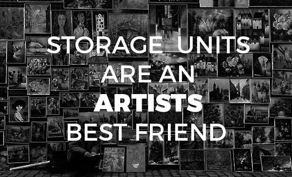 artist, storage unit, benefit