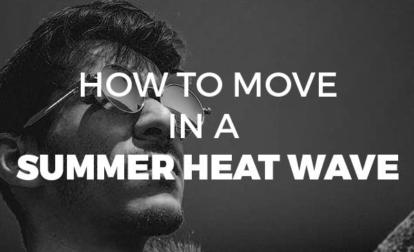 summer, heatwave, moving