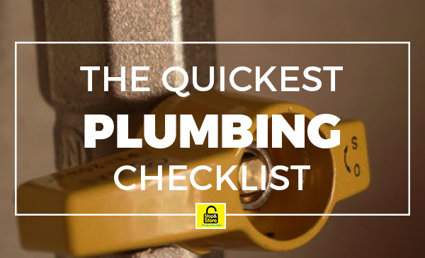 plumbing, checklist, tips
