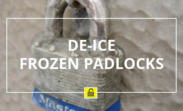 De-Ice a Padlock after it has Frozen | Blog | Stop and Store