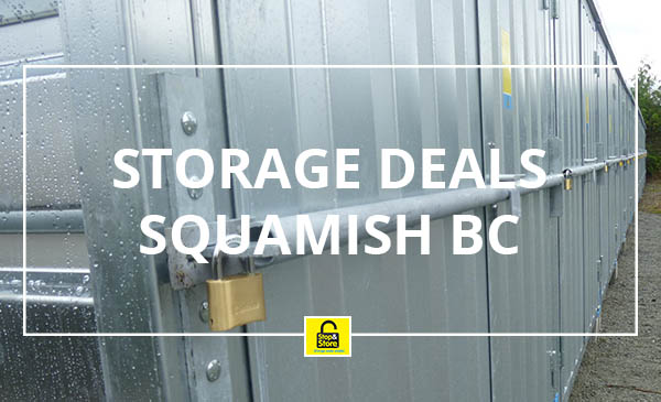 storage deals, squamish, bc