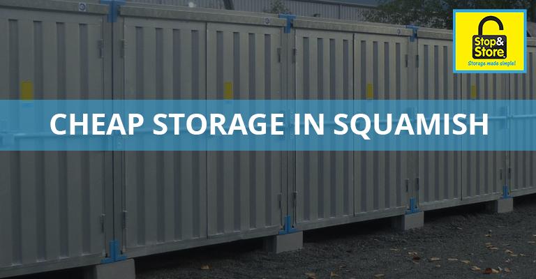 cheap storage units, squamish, outdoor units