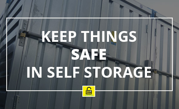 safe, self storage, lock, door